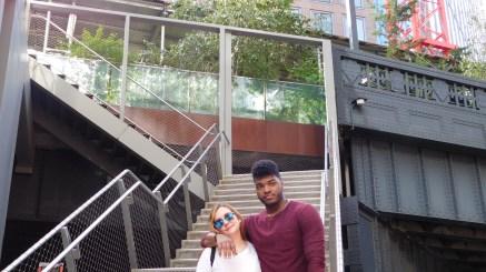Devon and Miriam @ Highline Park - New York, NY