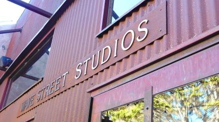 Wave Street Studios sign - Wave Street Studios, Wave Street, Monterey, CA (Photo by Cali Togo)