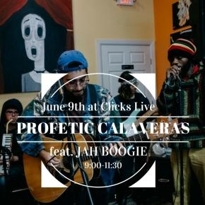 June 9th at Clicks Live