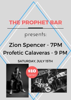 Prophet Bar - July 15th